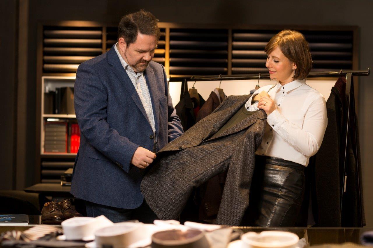 Шоппинг с персональным шоппером в магазине Хирмер в Мюнхене