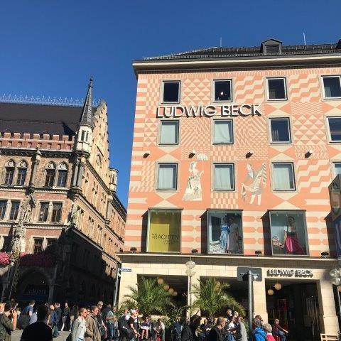 шоппинг в Мюнхене со стилистом, в магазине Людвиг Бек