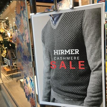 Распродажи в магазине Хирмер