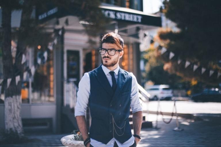 мужской стилист - романтический стиль в одежде