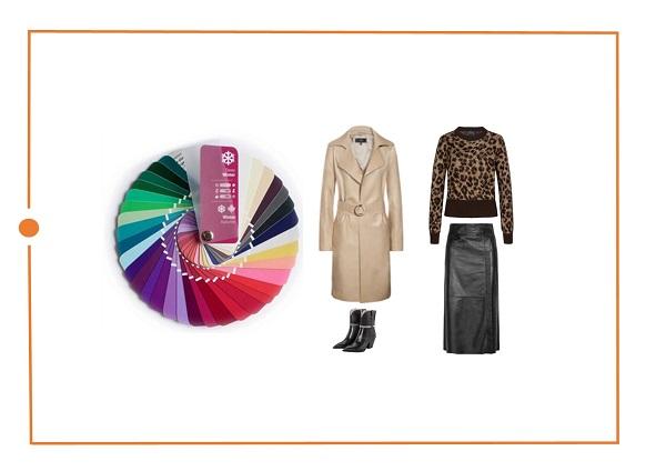 Определить цветотип темная зима - советы стилиста