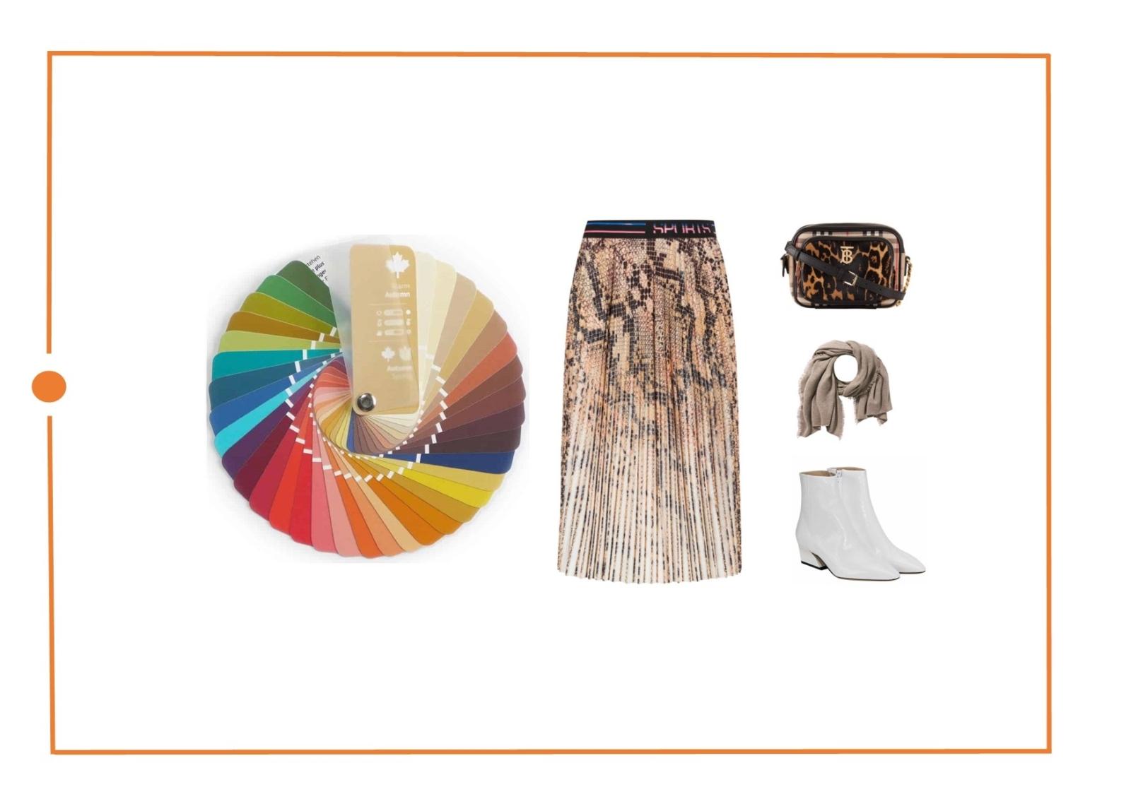 Оперделить цветотип теплая осень - советы стилистов