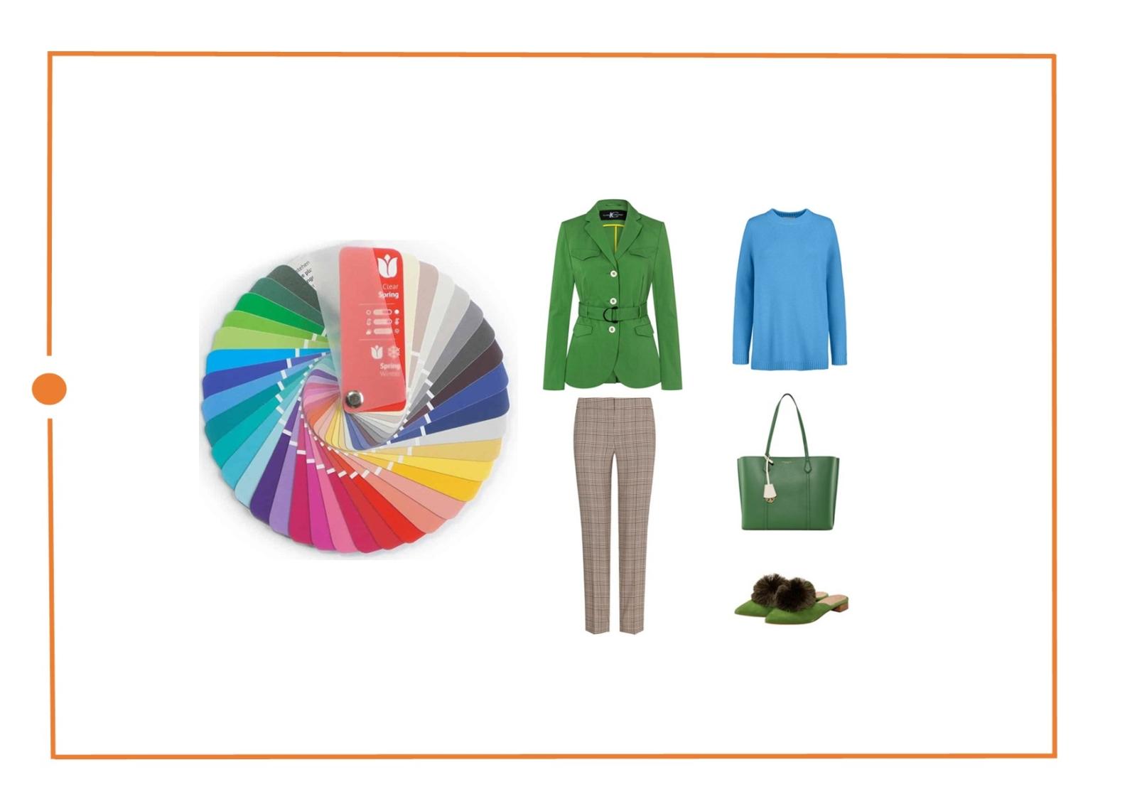 Определить цветотип яркая весна - советы стилиста