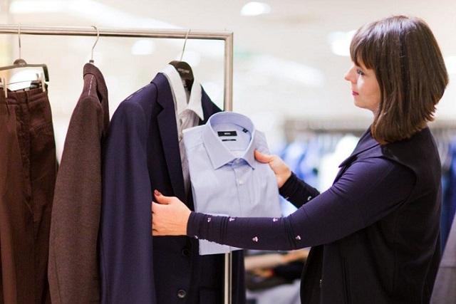 мужской стилист шоппинг в hirmer