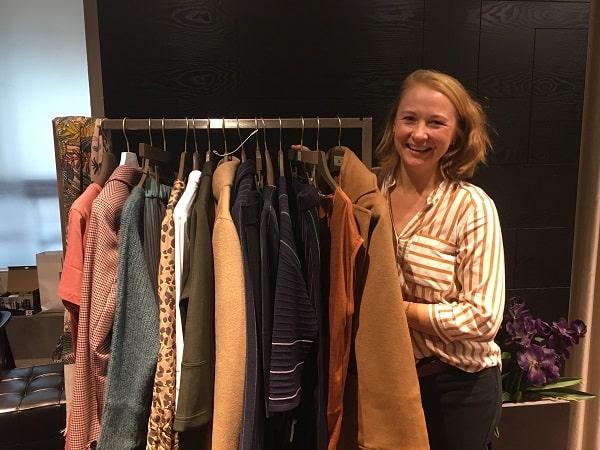 Анна шоппинг со стилистом