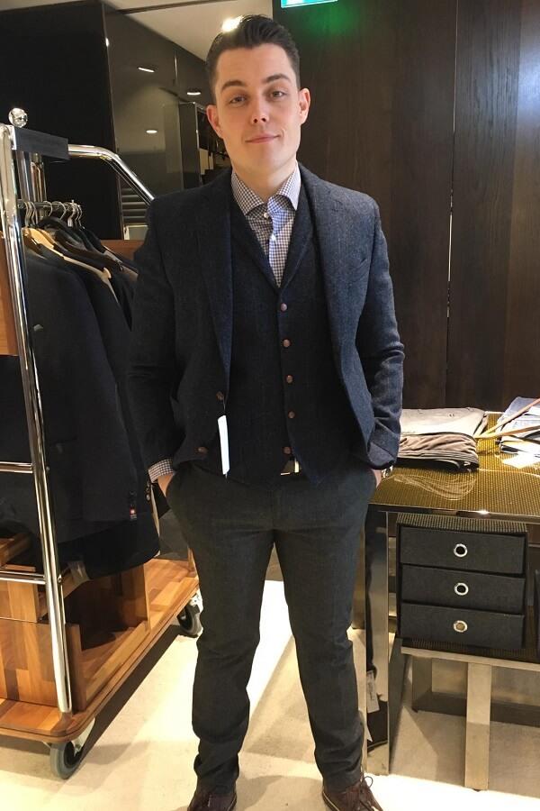 деловой стиль в одежде - кристоф