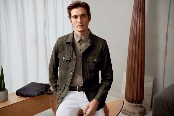 поло и легкий пиджак базовый мужской гардероб