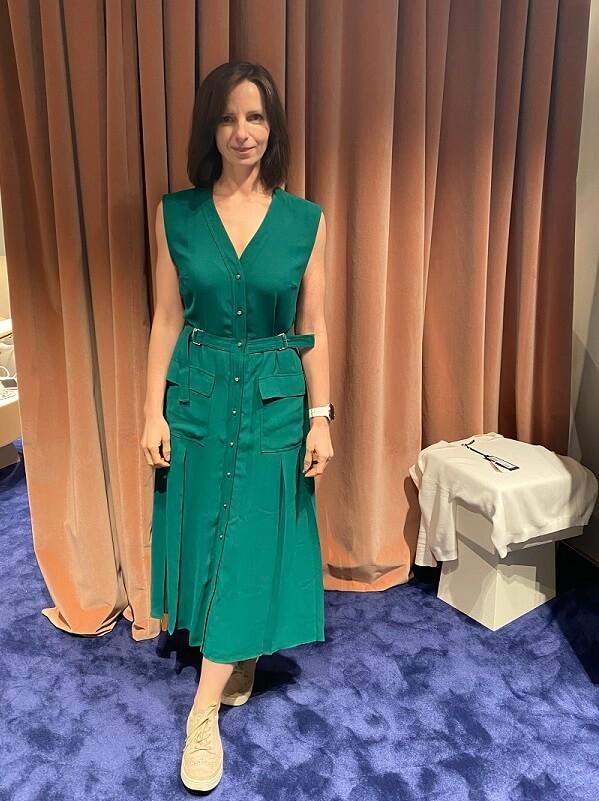 зеленое платье - шоппинг в оберполлингер
