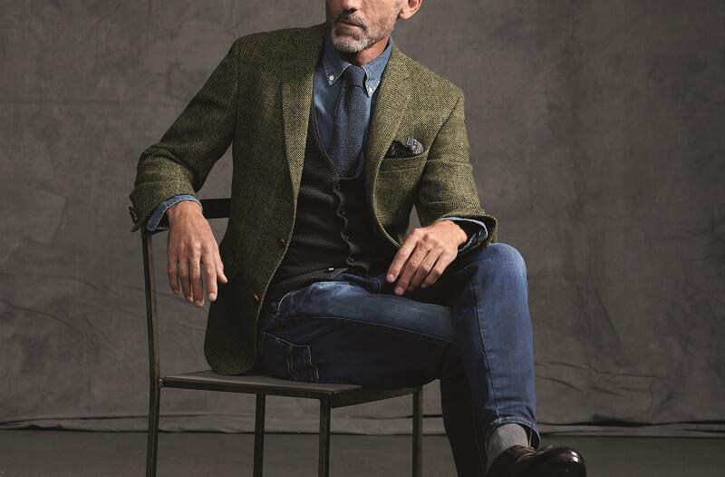 как одеться мужчине за 50 стильно