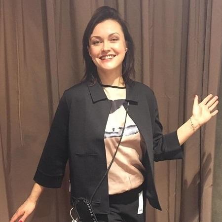 черный пиджак с топом - консультация стилиста для Лены