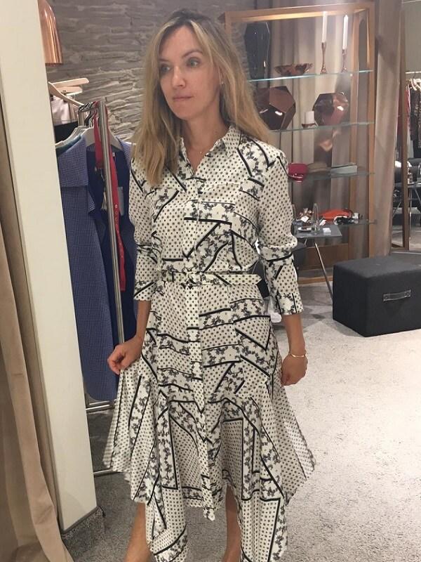 Мария - платье при шоппинге в Мюнхене