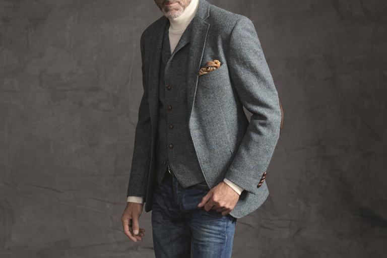 мужской пиджак - как одеться мужчине за 50 стильно