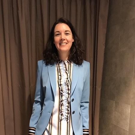 Нина голубой пиджак - шоппинг в Мюнхене