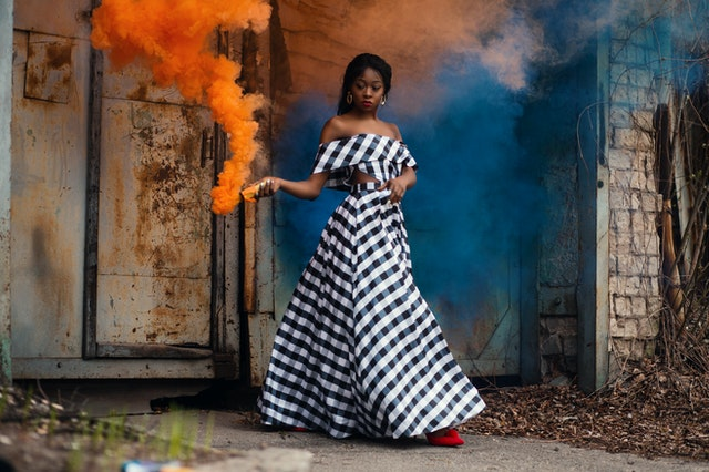 экстравагантное платье - тип фигуры